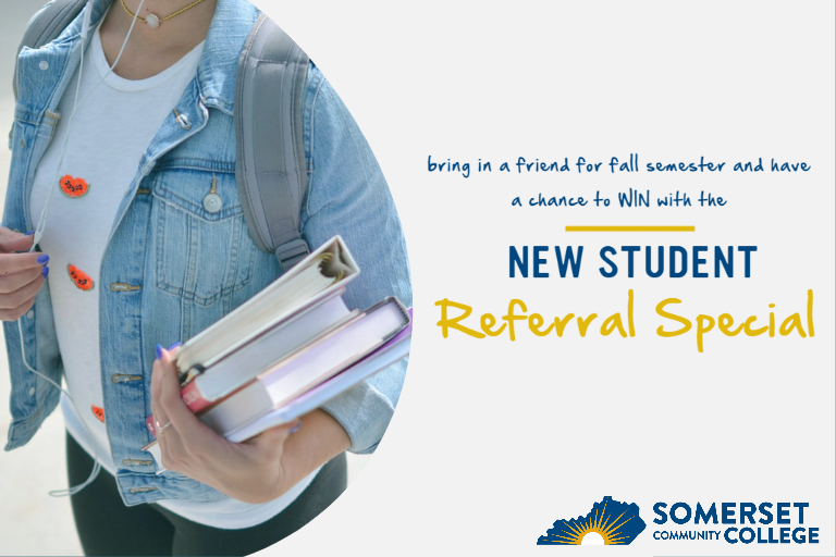 new student referral promotion