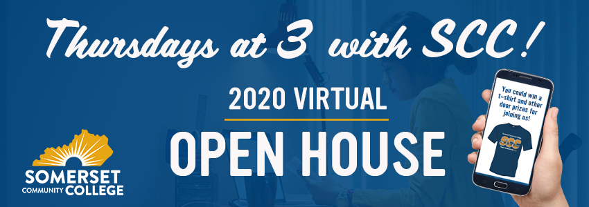 virtual open house thursdays at 3 with scc