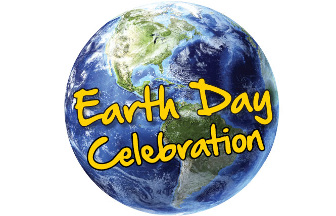 earth day celebration logo
