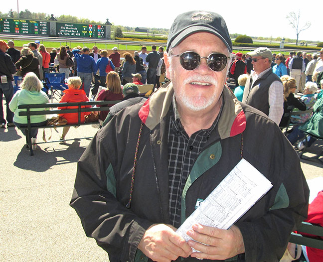 photo of stuart simpson at keeneland