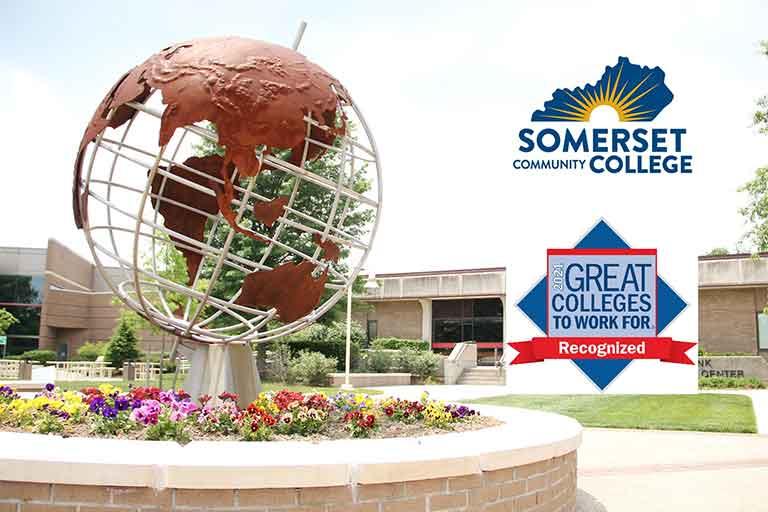 SCC North campus Globe