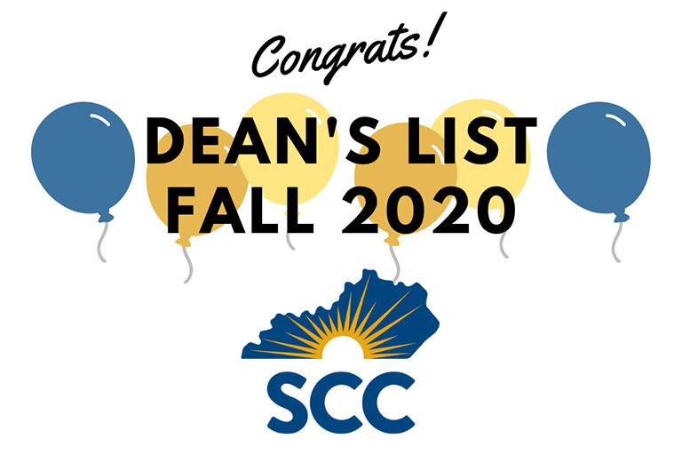 deans list fall 2020