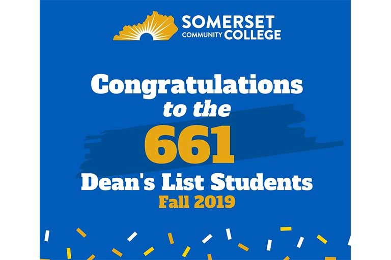 congratulations to the 661 deans list students fall 2019