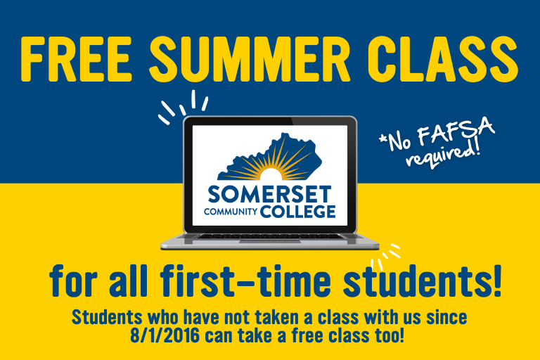free summer class to first-time students