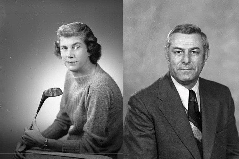 Dr. Robert McLeod and his wife, Cornelia McLeod.