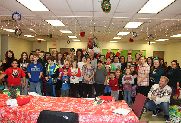 cosmetology students joined with needy local area elementary school students at operation kids christmas
