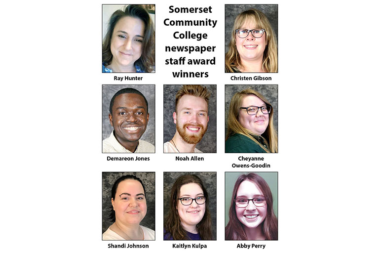 SCC student newspaper winners