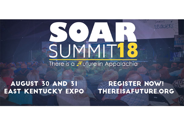 SOAR summit graphic with dates and location