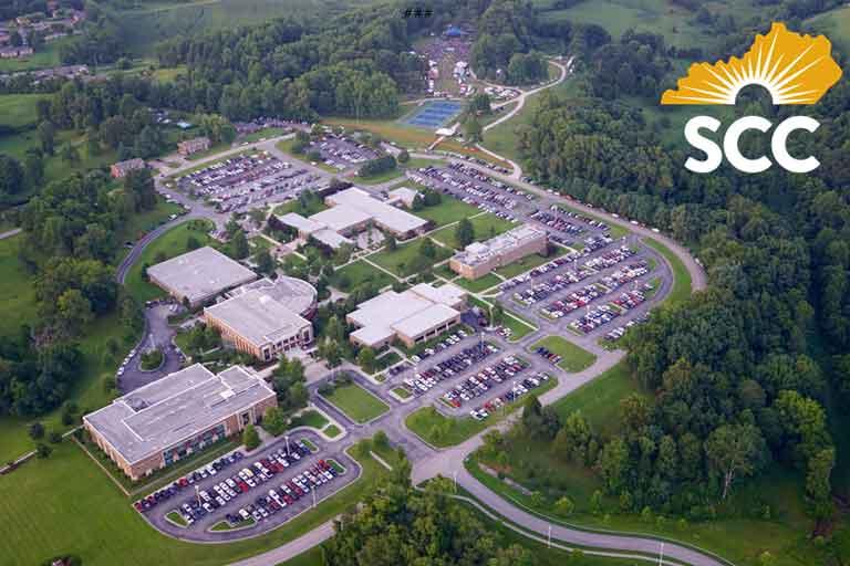 Aerial shot of Somerset North Campus